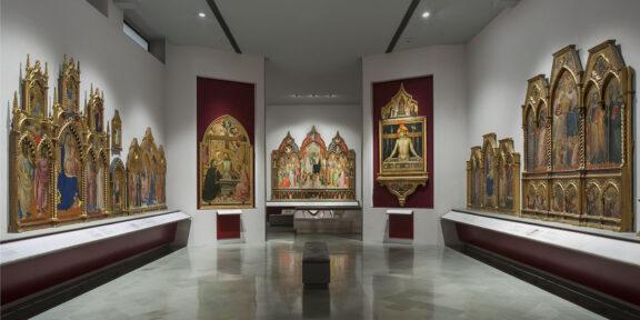 Galleria dell'Accademia di Firenze primo piano