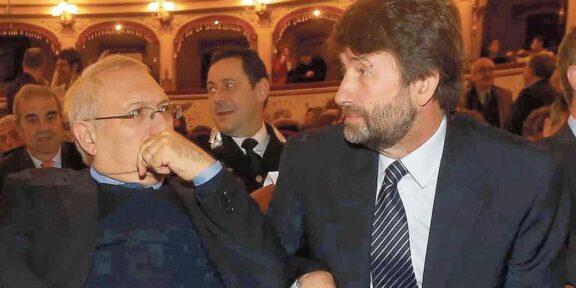 I ministri Bianchi e Franceschini, firmatari del protocollo