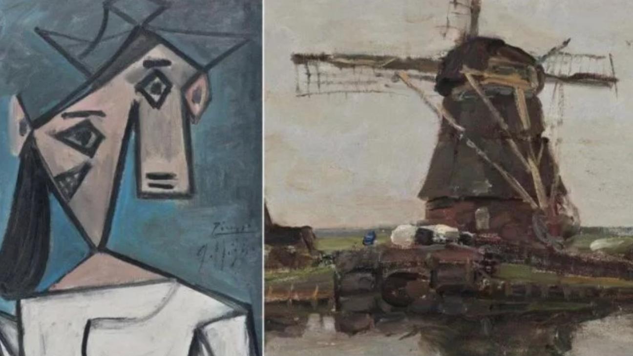 Ritrovati! Dopo 9 anni la polizia recupera un Picasso e un Mondrian rubati ad Atene