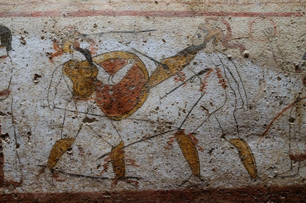 Lastra dalla Necropoli del Gaudo