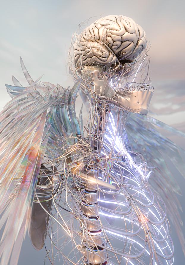 GIUSY_AMOROSO, Exoskeleton---The-origin. Courtesy of the artist
