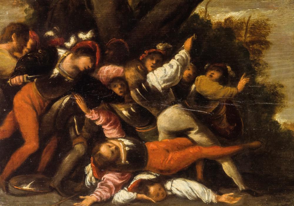 La Rissa Pietro Muttoni detto Pietro della Vecchia (Venezia, 1603 - Vicenza, 1678) (lotto 410, stima 5.000 – 8.000 euro)