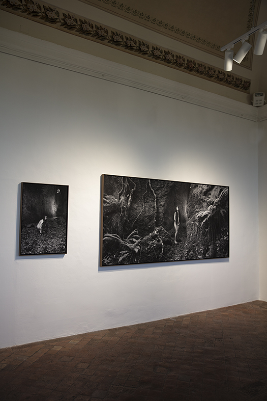 La Galleria Giampaolo Abbondio a Todi, con la mostra Mnemosyne di Matteo Basilé