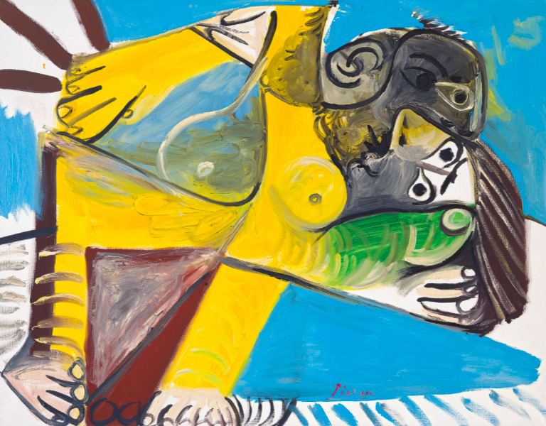 Pablo Picasso, L'Étreinte