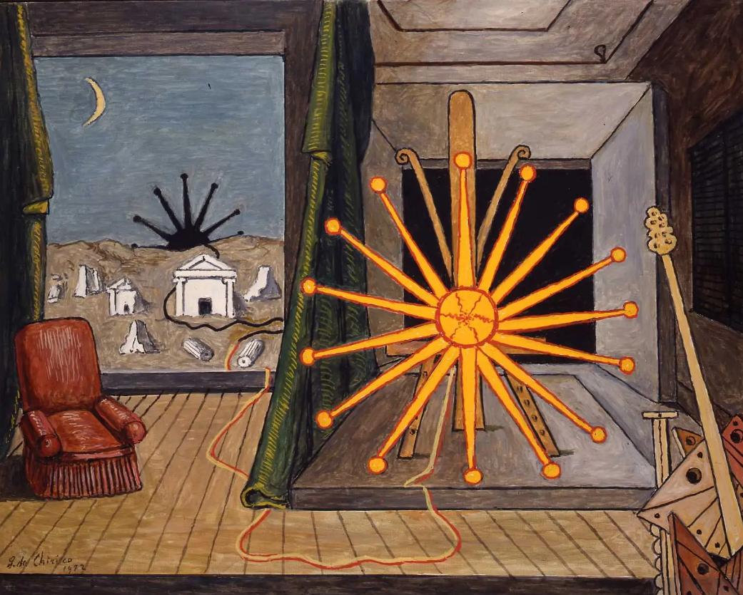 Da L'enigma di un pomeriggio d'autunno alla Neometafisica. Il grande ritorno di De Chirico, il libro di Lorenzo Canova