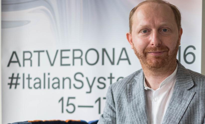 Stefano Raimondi, direttore artistico di ArtVerona