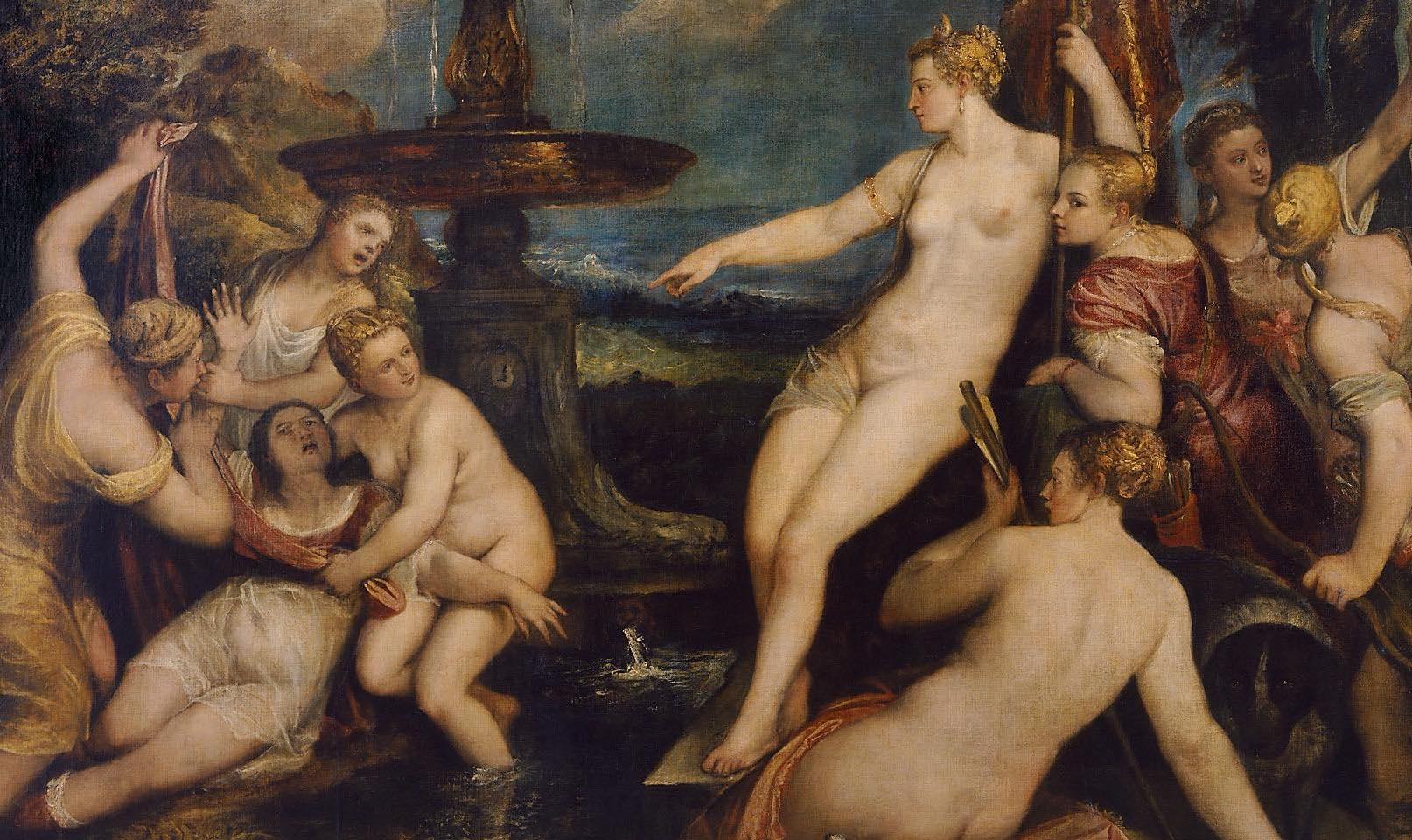 Si prega di non toccare: una rilettura sovversiva di Diana e Callisto di Tiziano