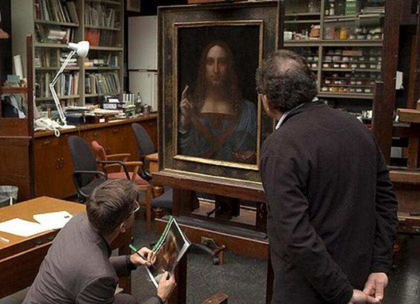 Una scena di The lost Leonardo, presentato al Tribeca