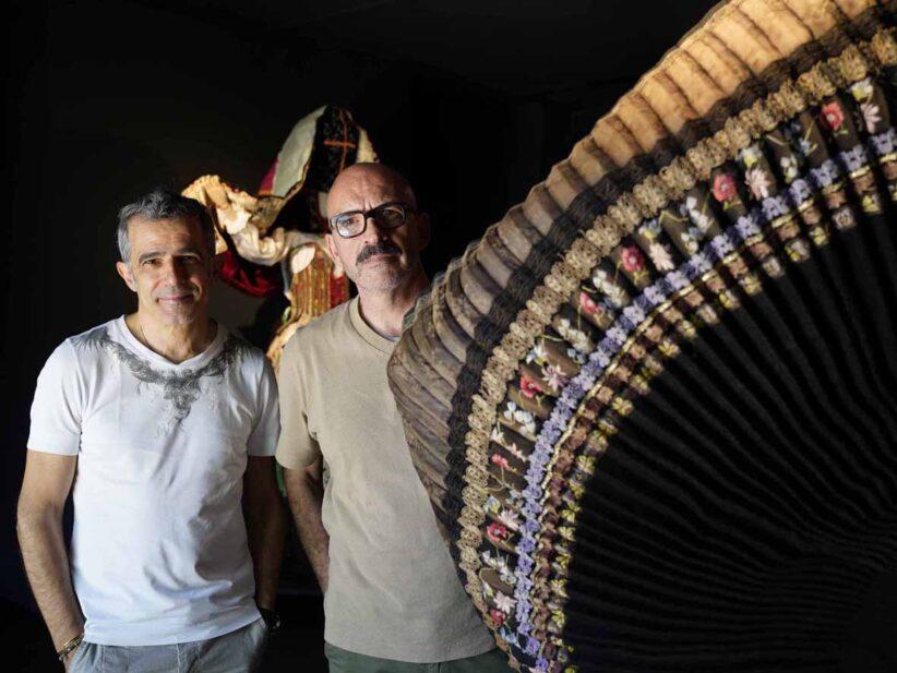 Paolo Fresu e Antonio Marras. Foto di Daniela Zedda