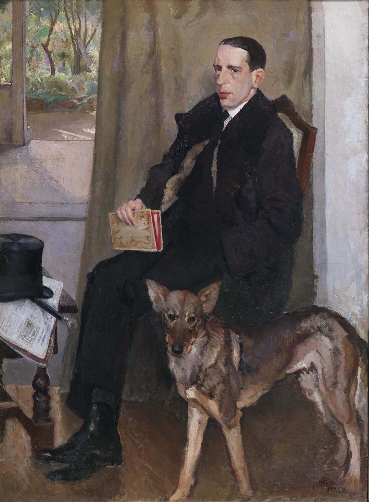 Cipriano Efisio Oppo, Ritratto di banchiere (1923)