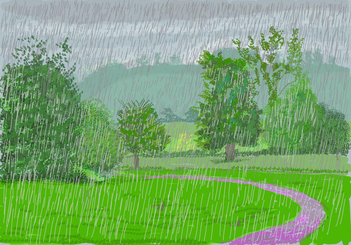L'arrivo della primavera in Normandia. Il video-tour della mostra di David Hockney