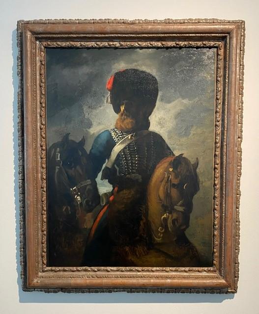 Théodore Géricault, Chasseur de la Garde Imperiale(1813-1814)