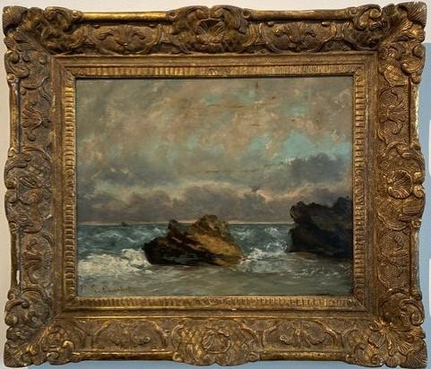 Gustave Courbet, Petit Paysage de Mer(1872)