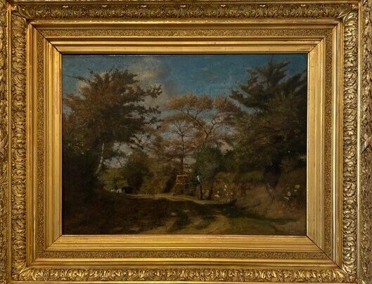 Vidal, Paysage des environs de Nemours(1880)