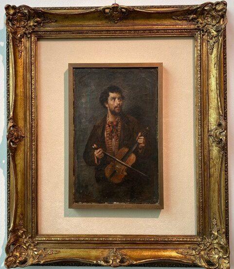 Desboutin, Le violoniste(1875)