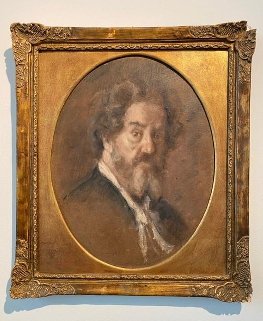 Marcellin Desboutin, Autoportrait(1890 circa)