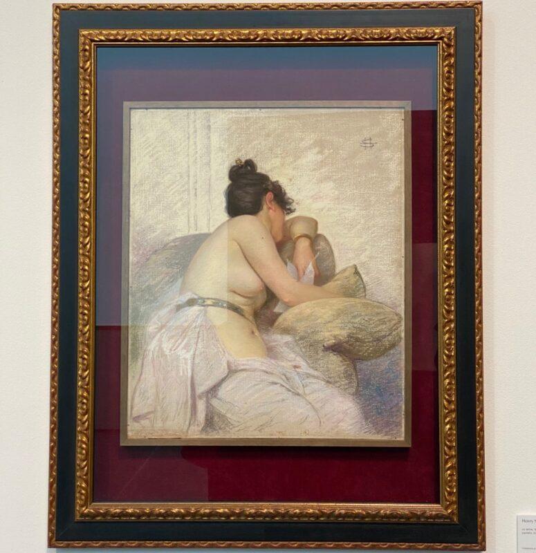 Henry Somm, La lettre(1890)