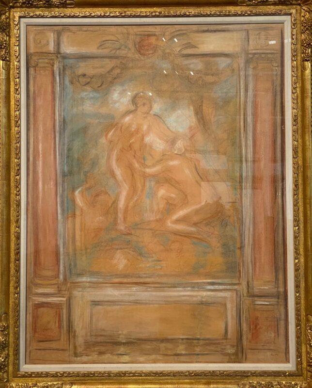 Pierre-Auguste Renoir, La Saone se jetant dans les bras du Rhone, 1913