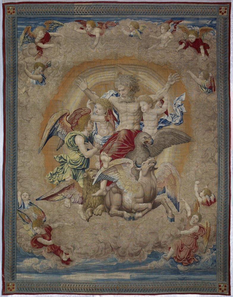 Pieter Coecke van Aelst, Vision of Ezekiel, about 1521 © Museo Nacional de Artes Decorativas. Madrid