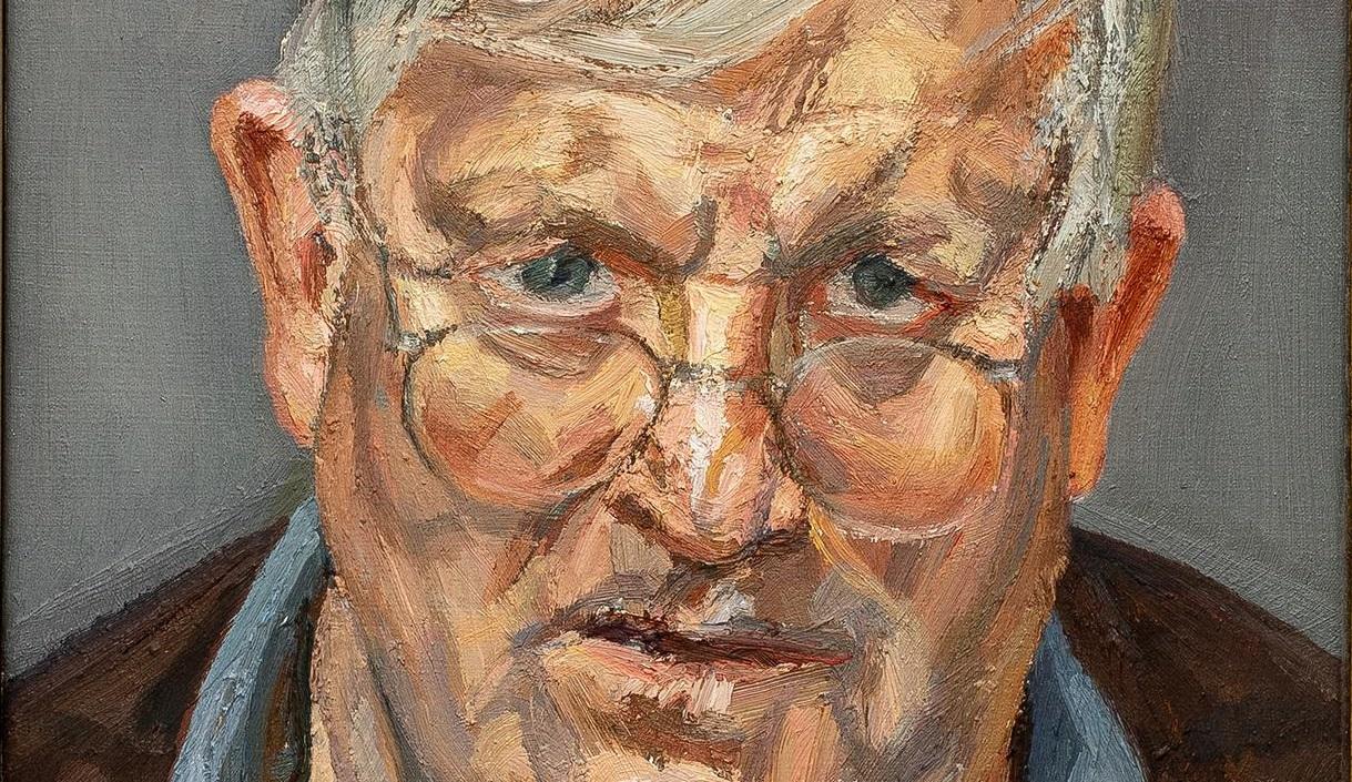 Hockney secondo Freud. L'importante ritratto fa il suo debutto in asta da Sotheby's