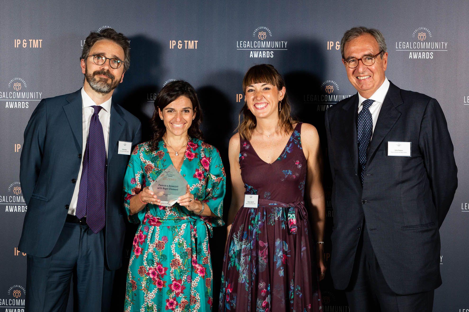 Pavesio e Associati with Negri-Clementi premiato miglior Studio nel Diritto dell'Arte 2021. È il quarto anno consecutivo