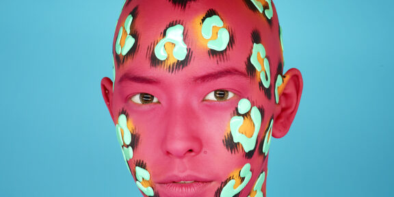 RANKIN, Blue Leopard – Pink, Saved By The Bell series, 2018, Courtesy of 29 ARTS IN PROGRESS gallery