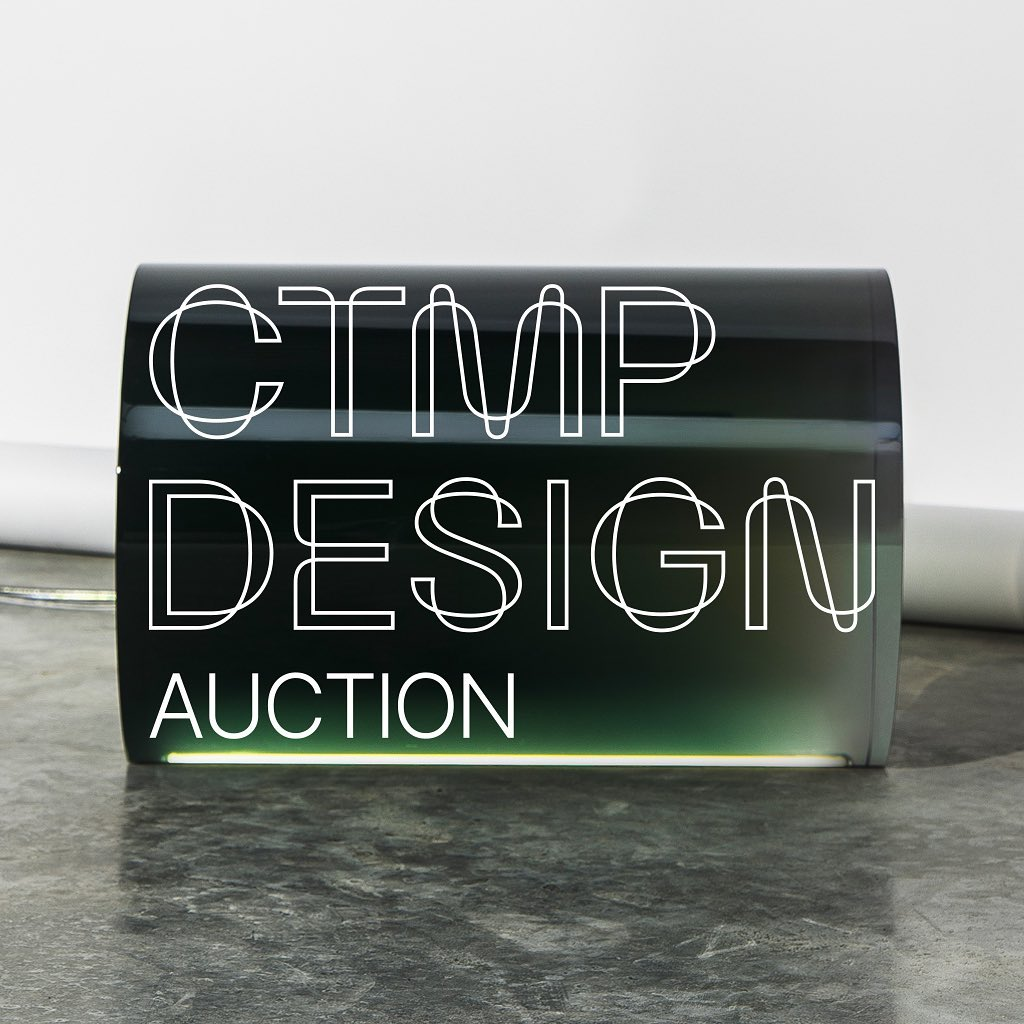 CTMP Design Auction. Cambi porta il design contemporaneo a Milano