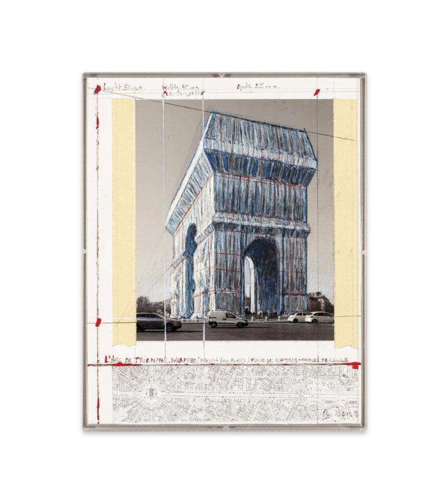 Christo, Arc de Triomphe 14 x 11 2019