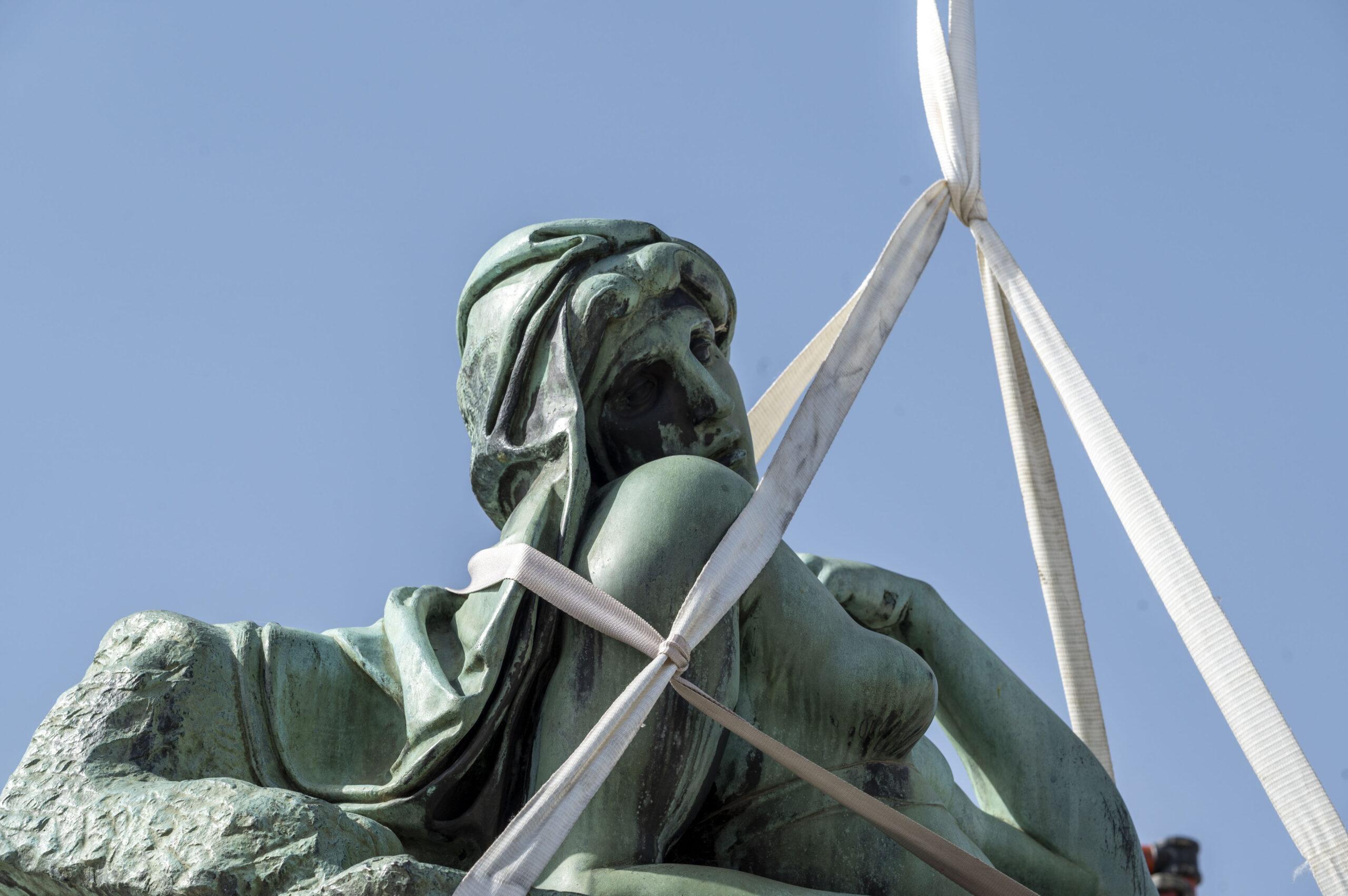 Al via i restauri del Monumento a Michelangelo. Il cantiere-evento a Firenze