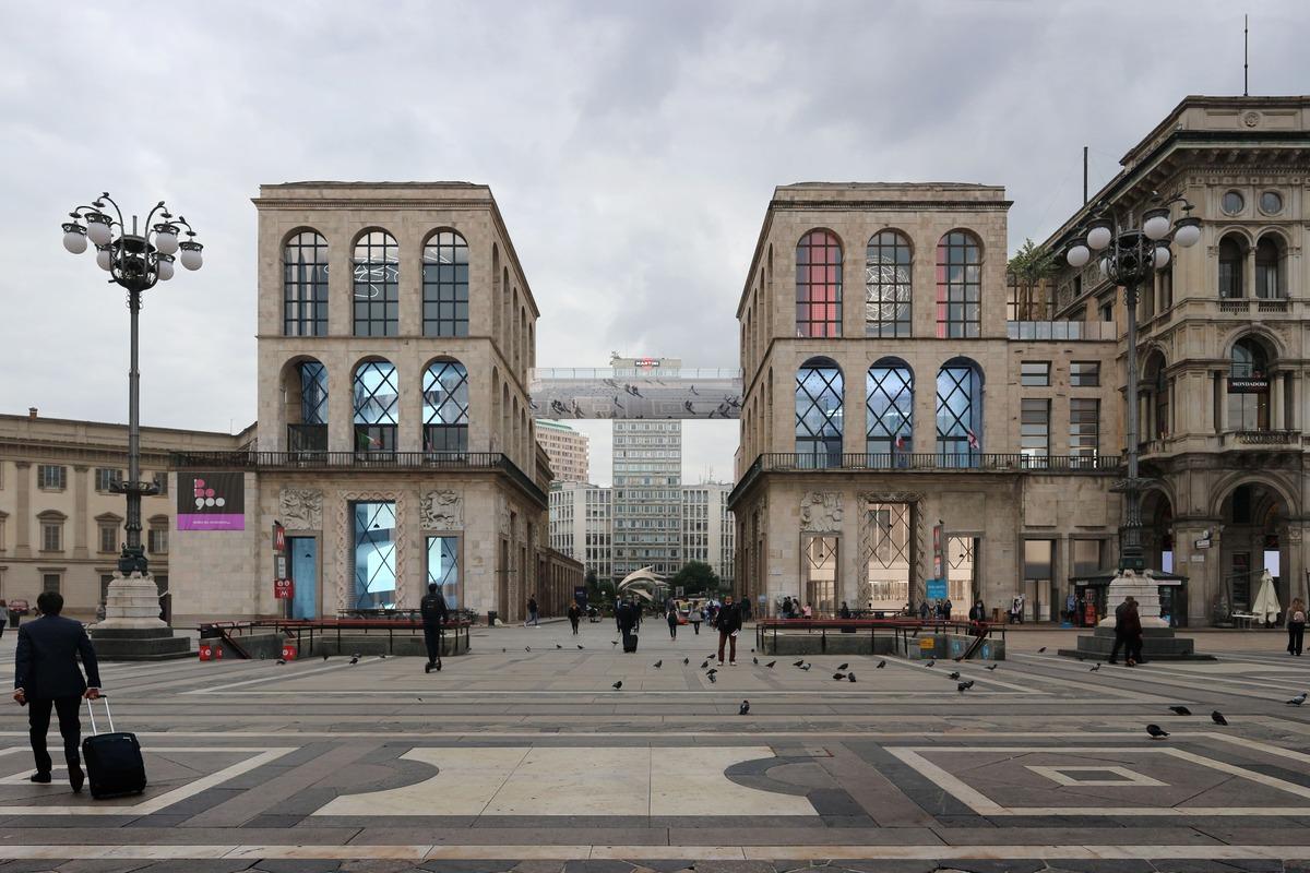 Si alla passerella. Il Museo del Novecento di Milano si amplia annettendo la seconda torre