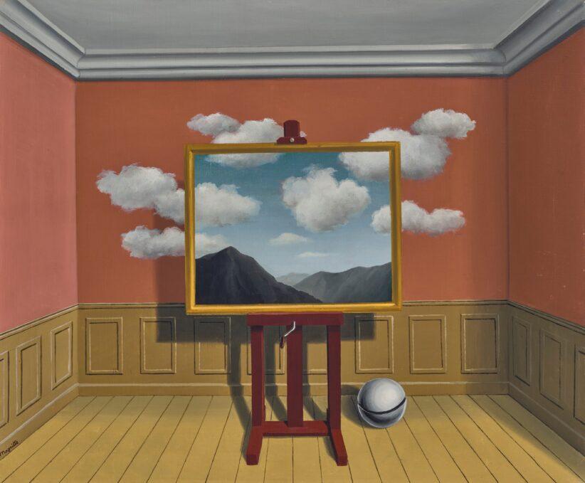 René Magritte, La Vengeance, 1936. CHRISTIE'S