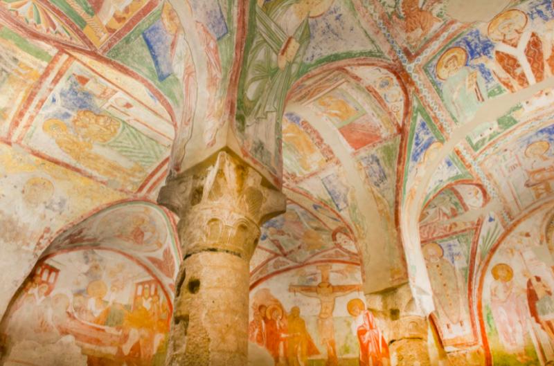 La cripta del Duomo Cattedrale di Aquileia