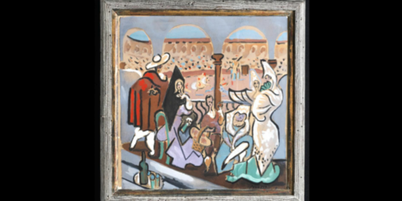 Le Tricorne, il Picasso ritrovato nell'armadio