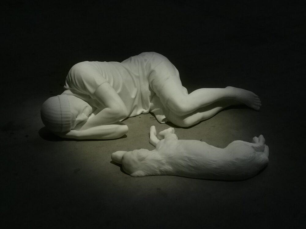 Maurizio Cattelan, Breath Ghosts Blind, Hangar Bicocca, Milano