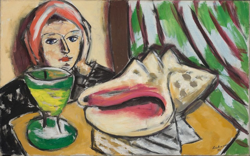 Max Beckmann, Still Life with Large Shell (1939) Courtesy Baltimore Museum of Art. Artists Rights Society (ARS), New York-VG Bild-Kunst, Bonn.