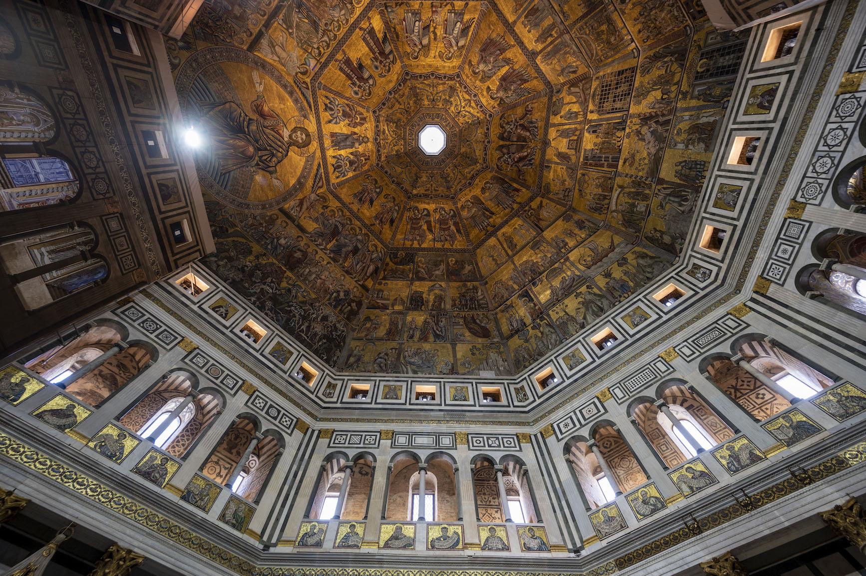 Riapre al pubblico dopo i restauri il Battistero di Firenze IMMAGINI E VIDEO