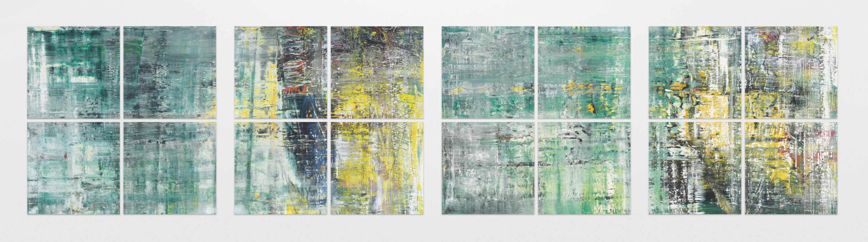I Cage Paintings di Gerhard Richter nelle parole di Hans Ulrich Obrist e nelle musica di Patty Smith, da Gagosian