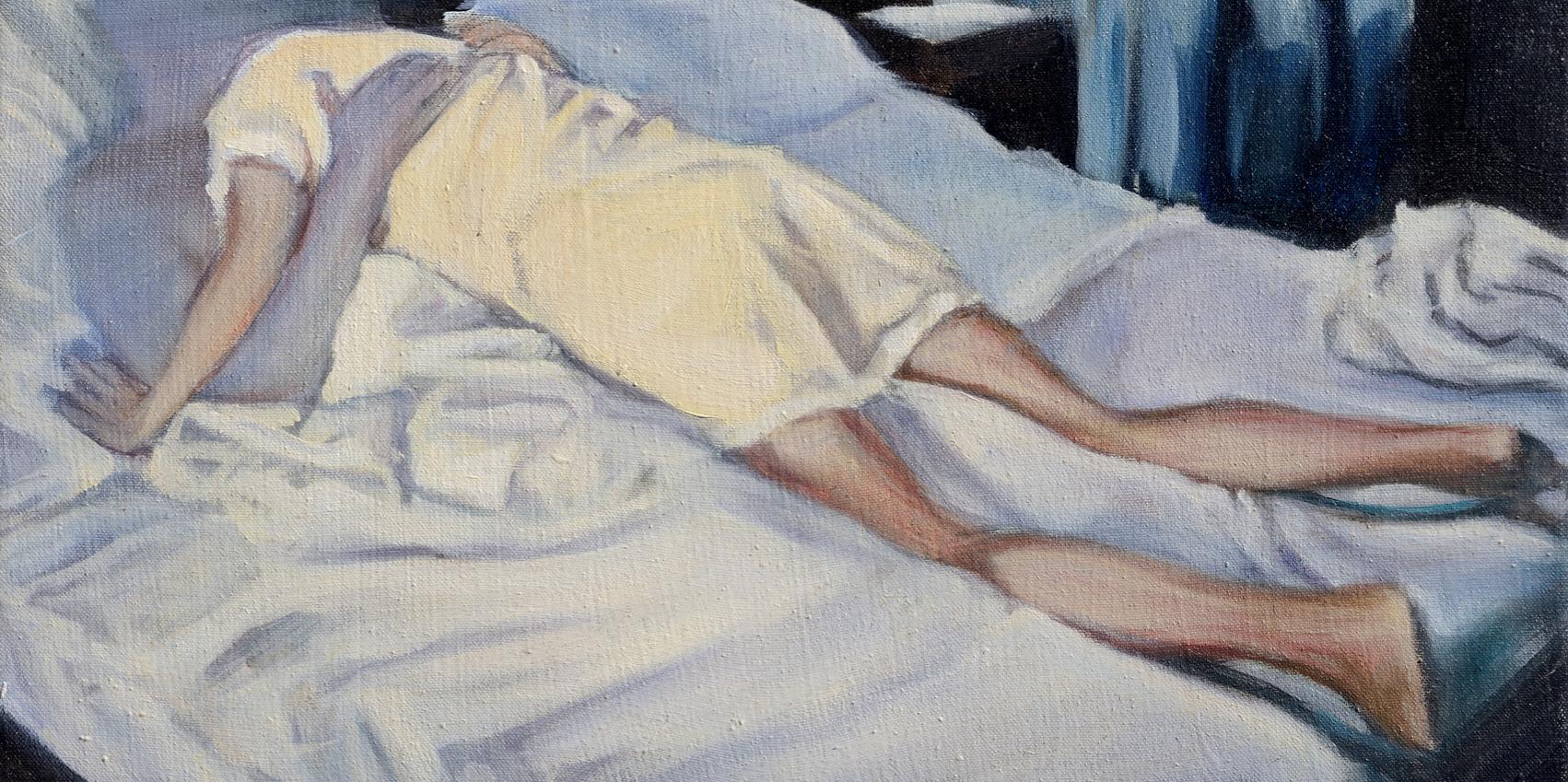 Iva Lulashi libera e desiderante. Le opere inedite, erotiche e politiche ispirate alle Cinque Terre