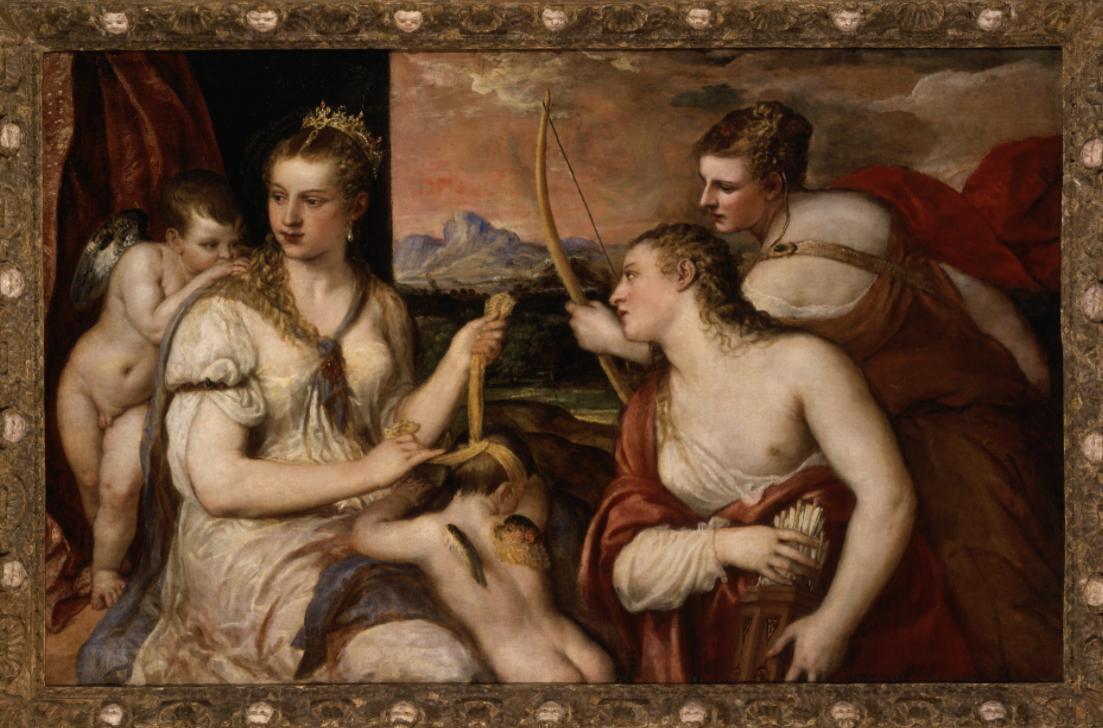 Un viaggio tra le Veneri di Palazzo Te. Dalla meravigliosa Venere che benda Amore di Tiziano alla Pudica e Spinaria