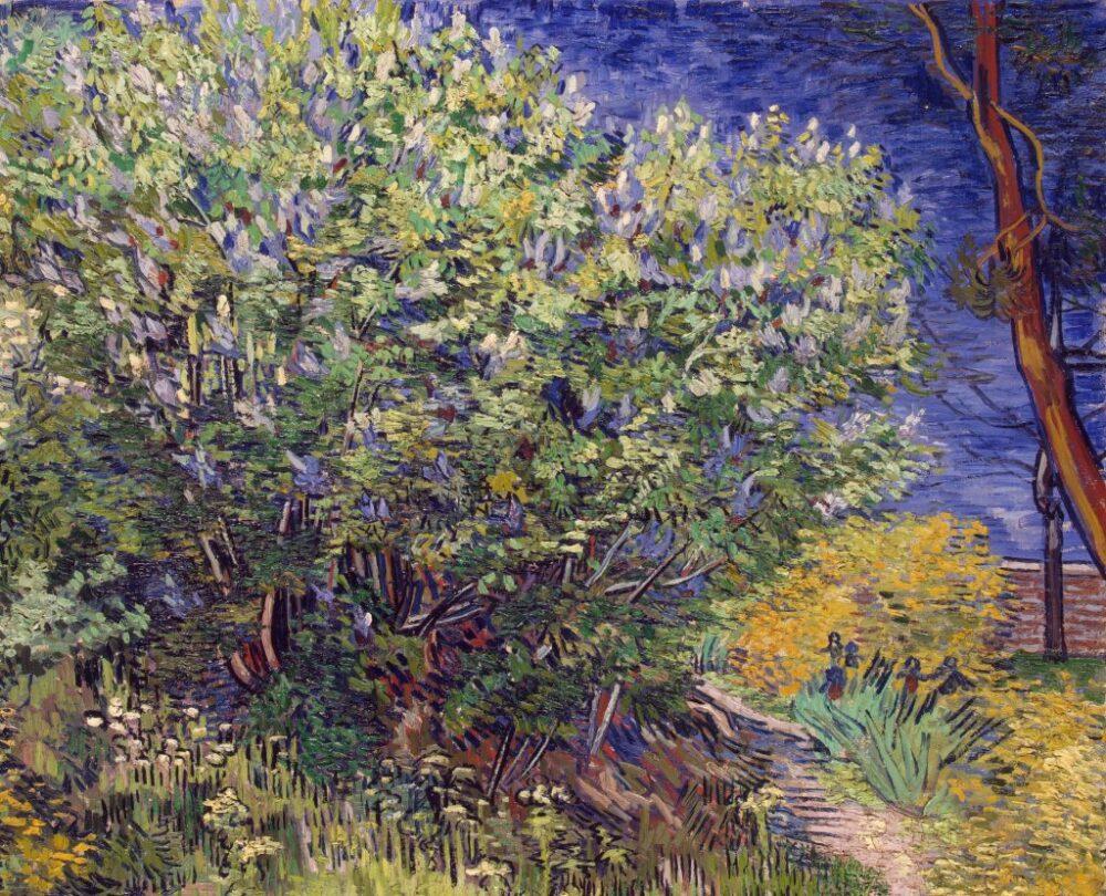 Vincent van Gogh, Lilac Bush (1889).