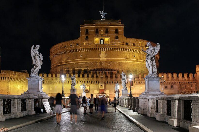 Notte europea dei musei castel sant'angelo