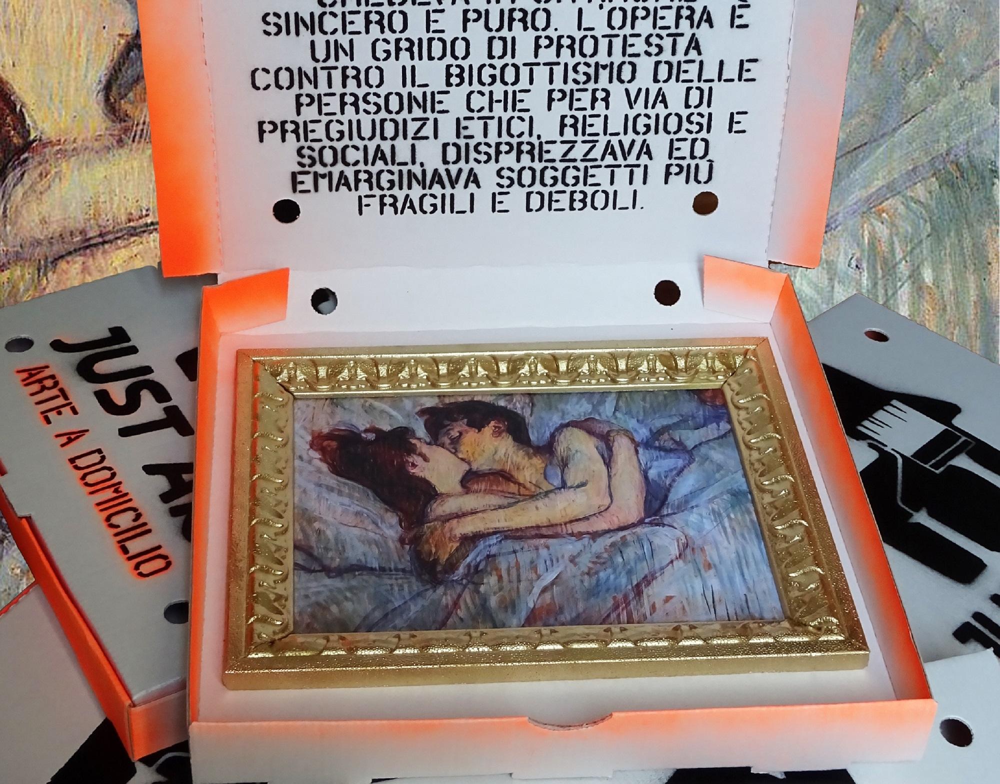 Just Art. Lo street artist Sirante (ri)lancia il primo delivery dell'arte