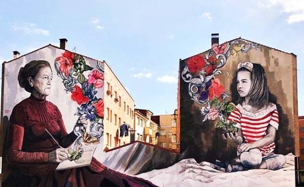 Street art e l'ambiente. 650 mq di murales realizzati con vernice che assorbe e annulla lo smog, a Rieti