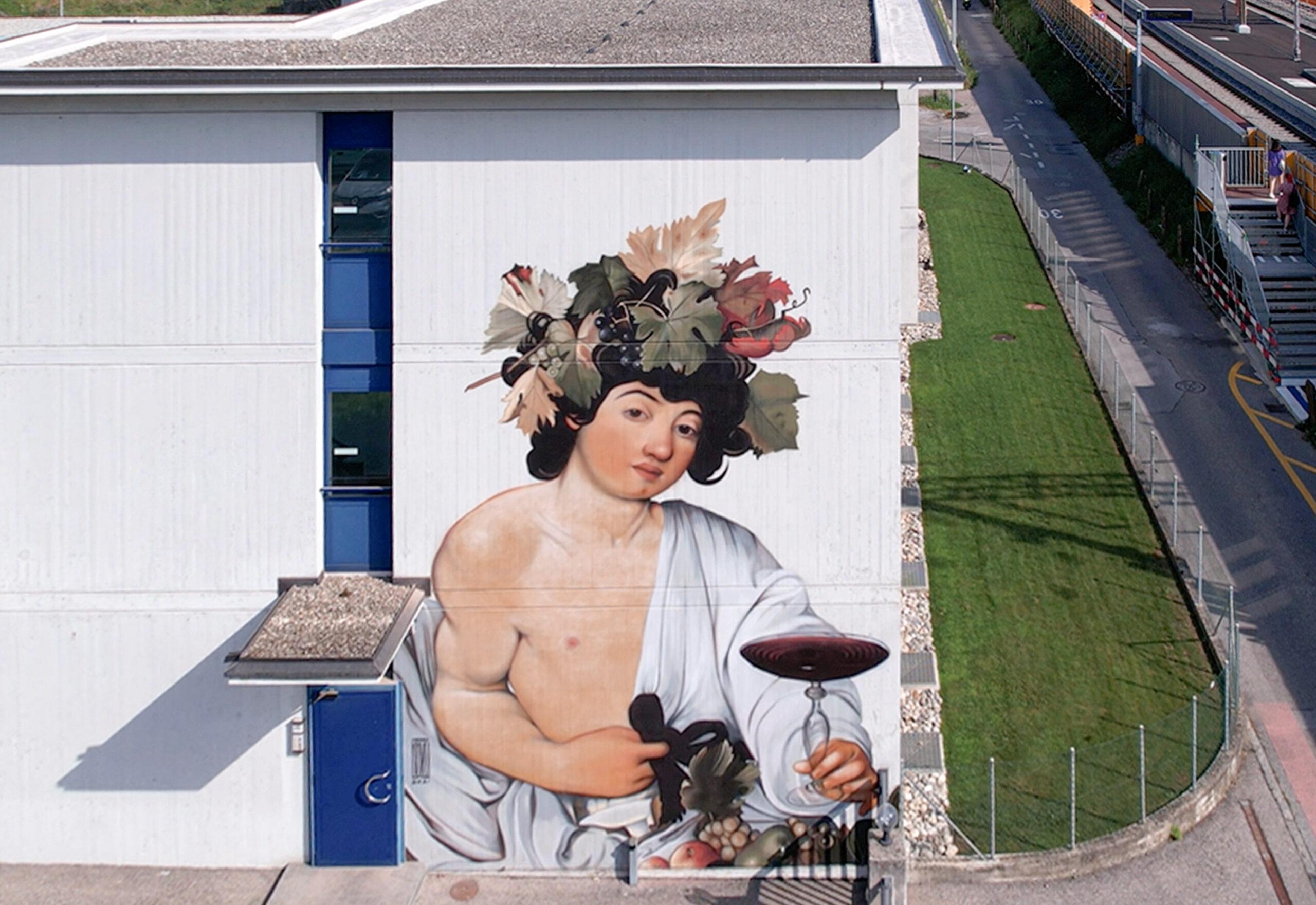 Tra Strada e Street Art. Storia e avanguardia si incontrano nella Triennale di Maroggia 2021