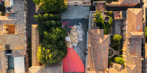 Dante Plus 700 - Alessandro Tricarico - Dante su Piazza San Francesco Ravenna 01