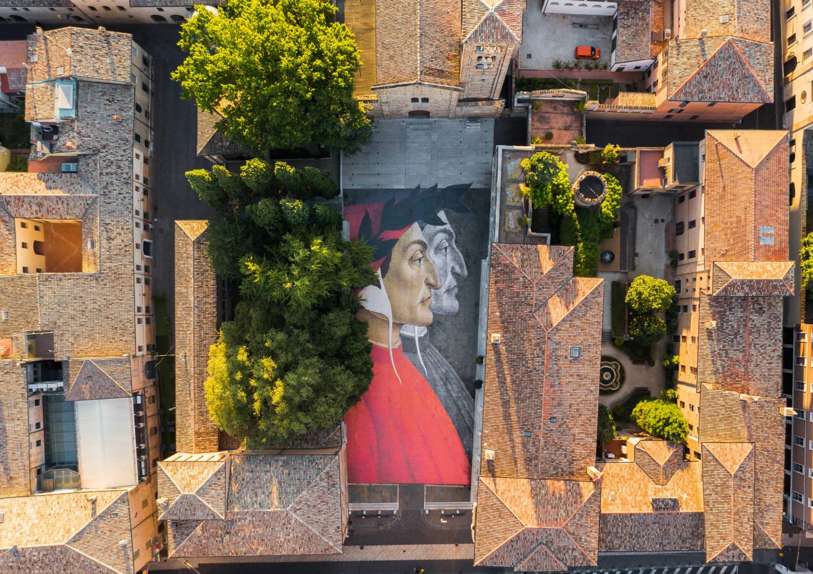 Dante per Ravenna, Ravenna per Dante: 100mila volti del Sommo Poeta di fronte alla sua tomba