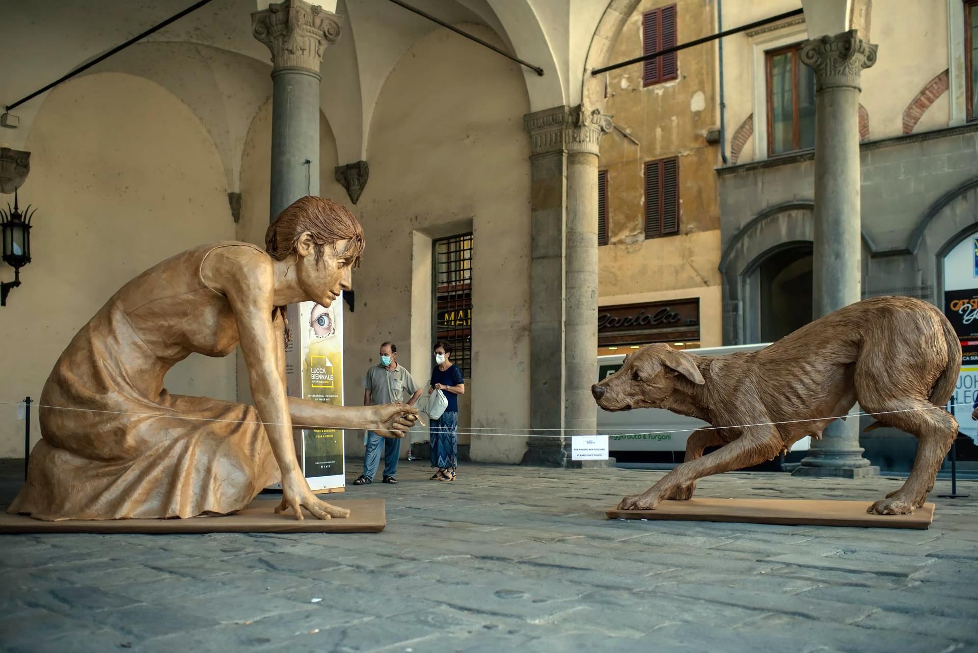 Paura e desiderio: la più importante rassegna dedicata alla Paper Art a Lucca