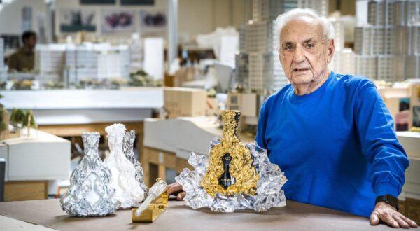 Gagosian Premieres celebra Frank Gehry a Beverly Hills. Il video della mostra