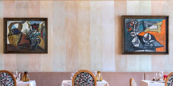 I Picasso all'MGM restaurant a Las Vegas