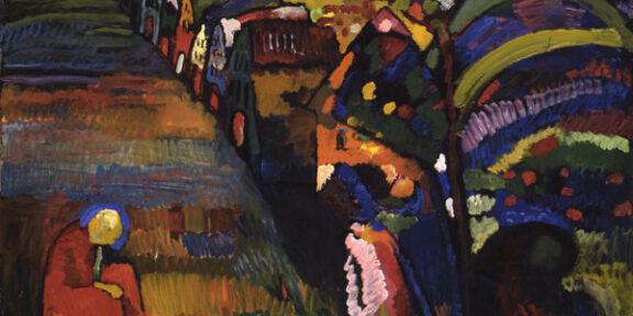 Wassily Kandinsky, Bild mit Häusern. Stedelijk.nl